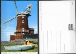 Ak GB  - Norfolk  - Windmühle,windmill - Cley Mill - Moulins à Vent
