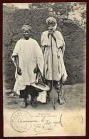 Cpa  Dahomey  Musulmans Un Nago Et Un Gambari    RAM4 - Dahomey