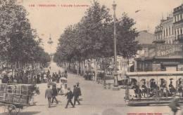 TOULOUSE - L´Allée Lafayette 1909 (trés Animée) Dép31 - Toulouse