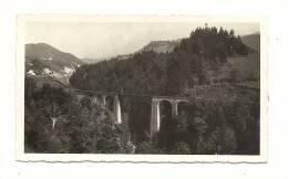 Photo, Le Lioran (15) - Route Du Lioran - Viaduc Sur La Cère - 1938 - Dim : 11 X 6.5 Cm - Plaatsen