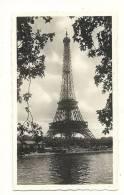 Photo, Paris (75) - La Tour Eiffel - 1938 - Dim : 11 X 6.5 Cm - Lieux