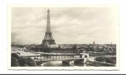 Photo, Paris (75) - Panorama Sur La Seine - 1938 - Dim : 11 X 6.5 Cm - Lieux