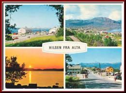 ★★ HILSEN Fra ALTA ★★ MULTIVIEW ALTA  ★★ - Norwegen