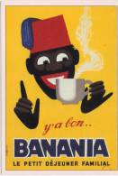 Banania   Y A Bon Banania Le Petit Dejeuner Familial  ( Fiche ) - Publicidad