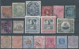COLONIES ANGLAISES - Bon lot de timbres classiques - 6 scans +