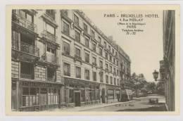 PARIS : Rue Meslay, Proximité Place De La République, Bruxelles Hôtel - Établissement Duval *f4629 - Arrondissement: 03