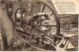 35 - RENNNES - Guerre 1914 - Canon Allemand / Sabotage Boche ++++++ SUP ++++++ Mary-Rousseliere, Rennes +++++ - Rennes