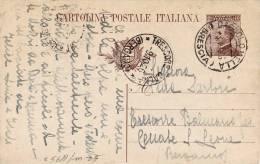 BAGNOLO MELLA / TRESCORE BALNEARIO Per CANALE S. LEONE  9.10.1926 - Card_ Cartolina Da Cent. 40 - Marcophilie