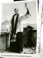 FRANCISCUS DE HIERONYMO NAPOLI  S FRANCESCO GERONIMO  V1967   DX4624 - Saints