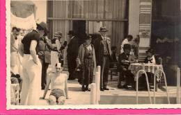 12 / 9 / 65  - Photo à Identifier  - Au Dos Inscrit  :La Piscine Du Grand Hôtel - Cartoline