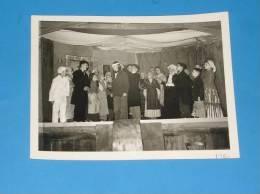 Photo Originale Ancienne VALENCE Drome Theatre A L Ecole ST Appolinaire Voir Legende Au Dos - Valence
