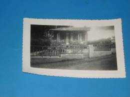 Photo Originale Ancienne SAINT PALAIS SUR MER Pres Royan Une Villa 1936 Voir Legende Au Dos - Saint-Palais-sur-Mer