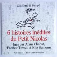 CD 6 HISTOIRES DU PETIT NICOLAS - GOSCINNY SEMPE - Gallimard Jeunesse - Disques & CD