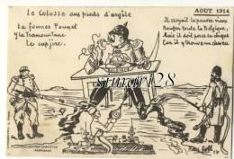 LE COLOSSE AUX PIEDS D'ARGILE - AOUT 1914 - Patriottisch