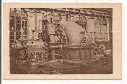 LE CREUSOT : Usines Du Creusot ( Schneider? ) - Turbine De 40000kws - P.Roussaud édit, Le Creusot- - Le Creusot