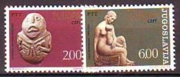Yugoslavia 1974 Y Europa Cept Sculptures Art Mi No 1557-58 MNH - Unclassified