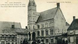 LOO - FLANDRE OCCIDENTALE -  BELGIE - BELGIQUE - PEU COURANTE CPA ANIMEE. - Lo-Reninge