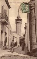 TUNIS - Le Minaret De La Mosquée Sidi Ben Arous.  -  (1921) - Túnez