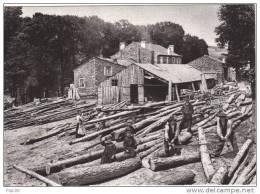 Il était Une Fois L'Auvergne Et Les Cévennes. La Scierie. 1912 - Paysans