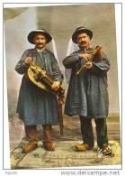 AUVERGNE. Vielleux Et Cabretaire (musiciens) - Musique