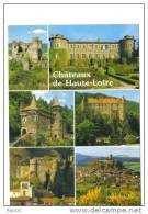 43.-Châteaux De Haute-Loire.Domeyrat, Chavaniac Lafayette, La Rochelambert, Lavoute / Loire, Arlempdes, Polignac - France
