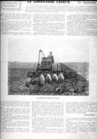 Du 15 Octobre 1911 - 101 Ans D´âge - AGRICULTURE - LA LABOUREUSE LANDRIN - - Non Classificati