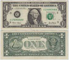 UNITED STATES USA  AMERICA  1  Dollar  2001  LETTER  C - Federal Reserve (1928-...)