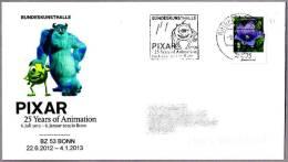 25 AÑOS PIXAR - DISNEY - MONSTERS Inc. BZ53 Bonn 2012 - Film