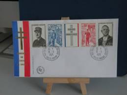 *FDC - Hommage Au Général De Gaulle - Colombey Les Deux Églises - 52 Haute Marne - 9.11.1971 France - Coté 15 € - FDC