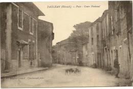 34/ PAULHAN - Poste Et Cours National - - Paulhan