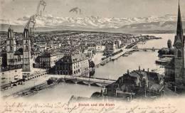 Zürich - Und Die Alpen 1904   03-138 - ZH Zurich