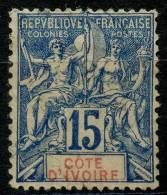 Côte D'ivoire (1892) N 6 (o)