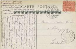 Postal BALLAN (Indre Et Loire) 1904, Cathedral De Tours - France