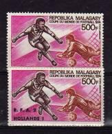 1974, Nº 133a   Cat Ivert, Nuevos Con Goma, Uno Tiene Sobrecarga - Madagascar (1960-...)