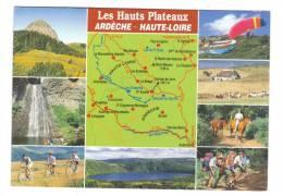 43.- 07.-Mezenc, Meygal, Gerbier De Jonc, Issarles, Peyrebelle, Le Cheylard, Pradelles, Langogne, Les Estables,Vals... - France