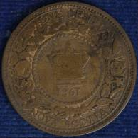 CANADA NOVA SCOTIA 1 CENT 1861 KM8 Q.BB #8860 - Canada