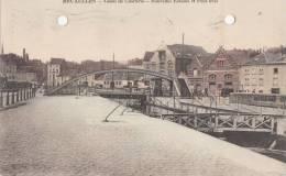 BR32107   Bruxelles    Canal De Charleroi Nouvelle Ecluses Et Pont Levis   2 Scans - Belgique