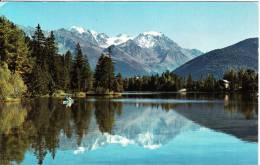 Lac De Champex Avec Le Grand Combin 4314 M. - Suisse