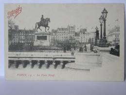 CPA 75 PARIS - 19 - Le Pont Neuf - Publicité MAGGI - Arrondissement: 19