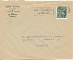 Belgium Cover Sent To Netherlands 1949 - Covers & Documents
