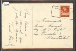 DISTRICT DE PAYERNE /// CORCELLES - CACHET DE REMPLACEMENT - AUSHILFSTEMPEL - 26.III.1921   - TB - VD Vaud