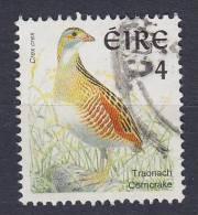 Ireland 1997 Mi. 1018 I A    4 (P) Bird Vogel Wachtelkönig Perf. 14 X 15 - 1949-... République D'Irlande