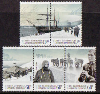 Australian Antarctic A.A.T. 2012 - Cent Expedition Australasian - 5v Neuf // Mnh - Ongebruikt