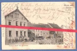 67 - BÜTTEN - Gruss Aus Bütten I Els. - Gasthaus Rauch Und Dorfstrasse - DIEMERINGEN - Francia