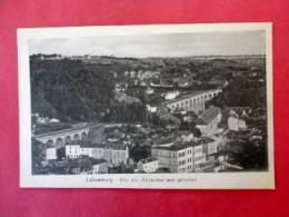 Luxemburg Von Der Belle Vue Aus Gesehen Unused Vintage Border ===   === Ref 662 - Unclassified