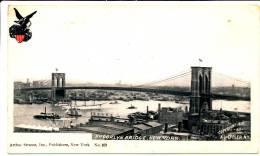 NEW YORK CITY - Brooklyn Bridge Private Mailing Card (pre 1902) - Non Classificati