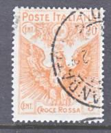 Italy B 3  (o)  EAGLE - 1900-44 Vittorio Emanuele III