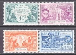 Wallis And Futuna  85-8  *   COLONIAL EXPO.  PARIS - Wallis And Futuna