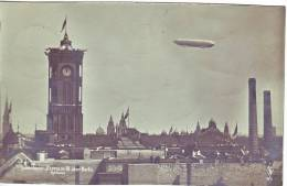 Germany ZEPPELIN LZ6 (Zeppelin III) PHOTO Used 1909 - Airmail