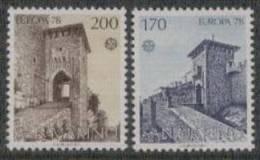 San Marino Yvertnrs: 955/56 Postfris - Europa-CEPT